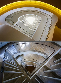 Staircase in Berlin, Germany