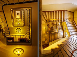 Staircase bei Dallmayrs in Munich, Germany