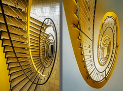 Staircase in Munich, Germany